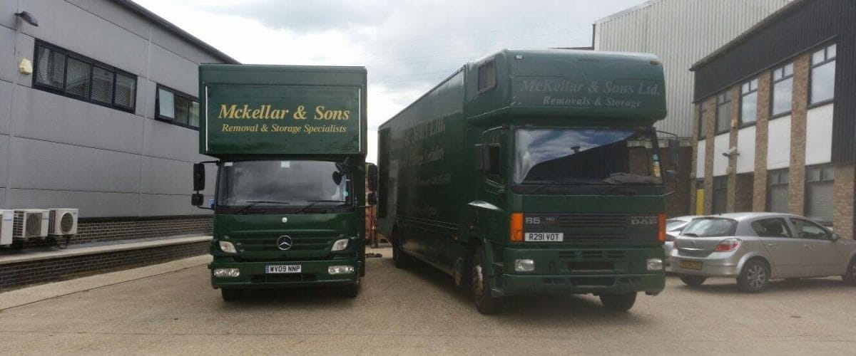 Our removals van and lorry